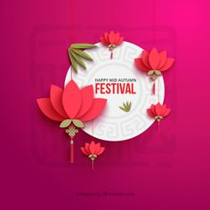 mooncake festival poster - Google Search