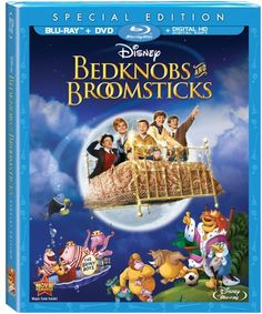 Disney's Bedknobs and Broomsticks Blu-Ray Review