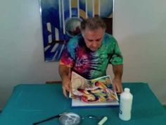 Protect And Present Your Watercolor Without A Frame - YouTube