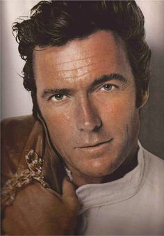 Clint Eastwood photo for 'Harper's Bazaar,' USA Clint Eastwood, Hollywood Stars, Classic Hollywood, Old Hollywood, Famous Men, Famous Faces, Famous People, Photo Portrait, Portraits