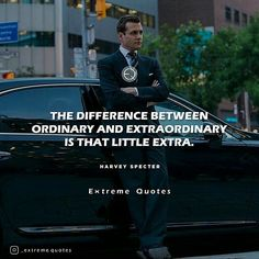 Just do that little extra ✌? . . . #extremequotes #harveyspecter #gabrielmacht #suits #suitsusa #classy #life #gentlemen #winning #photooftheday #motivationalquotes #follow #entreprenurquotes #hustle #instagood #quotestoliveby #motivation #inspiration #ceo #success #winners #tomorrow #quoteoftheday #wealth #haters #dreams #winning