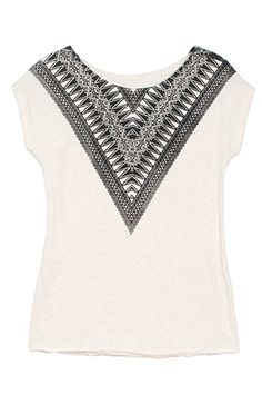 NEARY ETHNIC STRIPE TEE by Raven and Lily