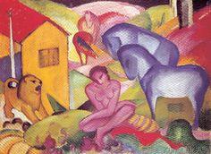 Franz Marc - The Dream