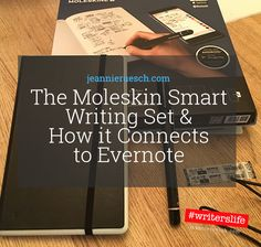 The Moleskin Smart Writing Set: a great tool for writers & note takers that syncs w/ Evernote. http://jeannieruesch.com/2017/10/moleskin-smart-writing-set-evernote-review/