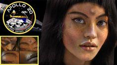 Mona Lisa, the Alien Girl Apollo 20 Found on the Moon - Alien UFO Sightings
