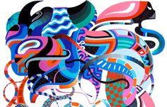 Duda Lanna's Psychedelic Geometry