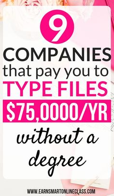 Looking for companies that pay beginners to type from home Heres a list of 9 transcription companies that will pay you to type files from the comfort of your home and mak. Earn Money From Home, Earn Money Online, Way To Make Money, Making Money From Home, Work From Home Opportunities, Work From Home Jobs, Typing Jobs From Home, Work From Home Canada, Internet Jobs From Home