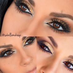 Gorgeous #eotd sabellamakeup using LBD gel liner!