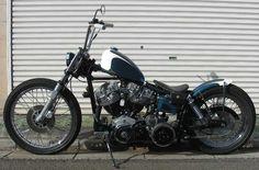 Custom Sportster, Custom Bobber, Custom Harleys, Hd Vintage, Vintage Bikes, Harley Bobber, Bobber Chopper, Custom Street Bikes, Custom Bikes
