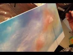 Learn to paint simple cloud shapes using a wet in wet technique using acrylic paints. Join Gaby Hunter for other painting techniques and online art classes at the Art Apprentice Online Art School.   http://store.artapprenticeonline.com