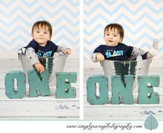 Photo Ideas for a One Year Old Boy