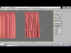 Using Cloth modifier to create curtains in 3Ds MAX - Preciux