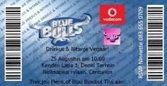Blue Bull Invitation