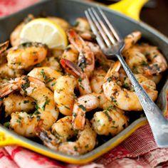 garlic and parsley shrimp