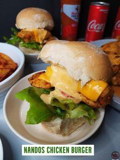 Recipe Videos, Food Videos, Nando's Chicken, Burger Recipes, Hamburger, Delish, Side Dishes, Dinner Recipes, Turkey
