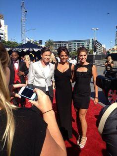 Abby Wambach, Sydney Leroux & Alex Morgan at the 2013 ESPY's