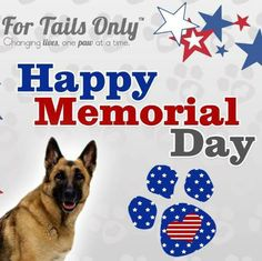 Wishing you and yours a Happy Memorial Day.  Please take a moment and remember all those who have served our Country to offer us the Freedom we enjoy today.