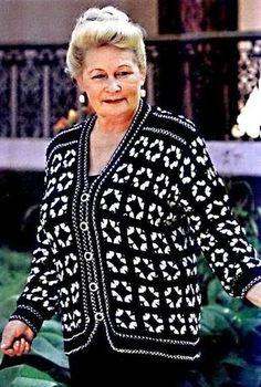 View the full album on Photobucket. Crochet Coat, Crochet Jacket, Crochet Shoes, Crochet Cardigan, Crochet Granny, Crochet Clothes, Granny Love, Moda Plus, Easter Crochet