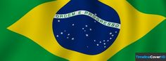 Brazilian Flag Timeline Cover 850x315 Facebook Covers - Timeline Cover HD