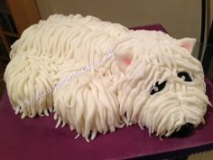 Scotty Dog Cake