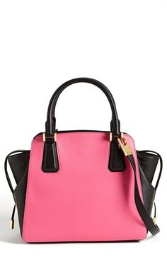 Michael Kors 'Miranda' Colorblock Leather Satchel available at #Nordstrom for the small price of $995