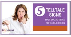 Great blog post at Kim Garst Boom Social - Social Selling Strategies That Actually Work : How is your social media marketing working for you? Do you even know?The following are 5 telltale signs your social media marketing sucks [..]
