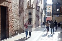 Old town Malaga stock image. Image of locations, mediterranean - 69955503 Malaga City, House Tiles, Alleyway, Brick Building, Andalusia, Old Town, Sunnies, Street View, Stock Photos