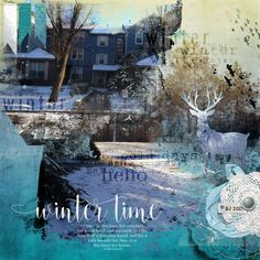 Early nightfall.  Leaf-bare branches.  Snow-white hares.  Frost bitten noses.  These are all signs of winter.  Late December brings these things along with the Winter Solstice.  In this collection you will find wonderful reminders of this magical time of year, containing elements for both traditional and art journal scrapbooking.