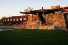 Taliesin West - been there, loved it. That was when I decided that's the kind of house that is home to me.