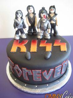 Kiss Cake - CMNY Cakes