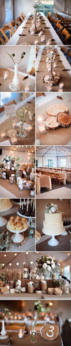 { Inspirujący ślub i wesele w stylu eco-chic }   Sweet Wedding.pl