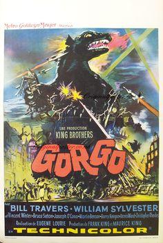 Gorgo,Original Vintage Film Poster | Original Poster - vintage film and movie posters A2 File
