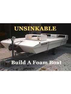 Boat Dock Plans And Designs Small Pontoon Boats, Small Boats, Wood Boat Plans, Boat Building Plans, Tiny Boat, Camper, Boat Projects, Plywood Boat, Cool Boats