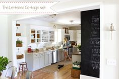 Kitchen | The Lettered Cottage after
