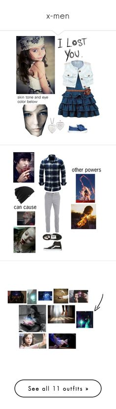 """x-men"" by author-of-isabelle-lupin ❤ liked on Polyvore featuring West Bend, Joshua's, Love Quotes Scarves, Vans, Burton, men's fashion, menswear, art, Shiseido and Good Guys Don't Wear Leather"