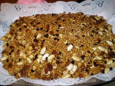 Kolyva ~ Boiled wheat with sugar, fruit and/or nuts Eaten by Orthodox Christians when the dead are commemorated or in honor of a Saint Orthodox Catholic, Orthodox Easter, Orthodox Christianity, Catholic Funeral, Funeral Food, Greek Icons, Greek Easter, All Saints Day, Greek Recipes
