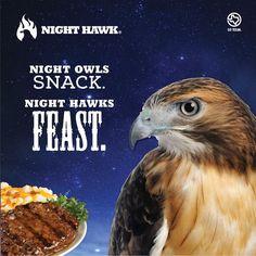 So feast my little Night Hawk, feast. #Food #Meal #Dinner