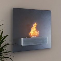 Ethanol Fuel Fireplace – $500
