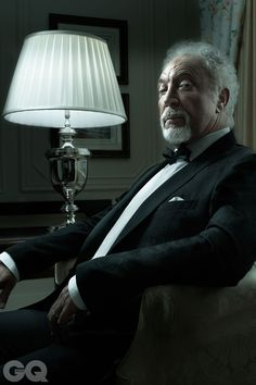 Sir Tom Jones, nee Thomas Jones Woodward, Treforest Pontypriedd Glamorgan Wales, (1940- ). Singer.: GQ Legend Of The Year 2012