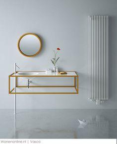 Nieuwe radiatoren van Vasco #badkamer