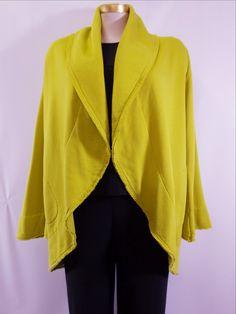 c280a950d1 Bryn Walker - Orujo Bamboo Organic Cotton Fleece Two Pocket Short Wrap Coat