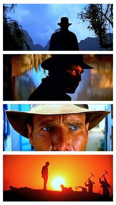 Raiders of the Lost Ark... sometimes forgotten in the quick-paced thriller is the top end cinematography.
