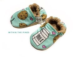 Milk & Cookies Moccasins – Within The Pines