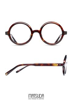 b06ed8c9eb Matsuda | Optical Collection | M1005 | features a round eyeglasses shape  made of hand finished