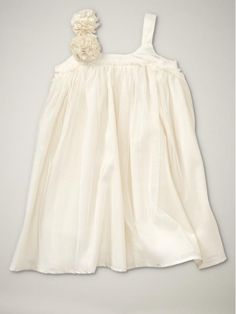 Pleated Tulle Baby Girl Dress $34.95 by lydia