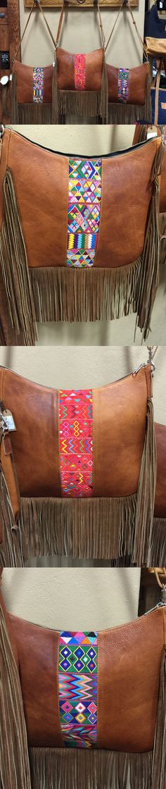 There is no such thing as too much FRINGE! The Cheyenne Fringe by Arloom. Can you believe these are made by hand? The Leather is so supple and the colors vivid! Adjustable strap long enough to wear as a cross body.