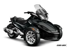 Spyder ST Three-Wheeled Motorcycle | Can-Am Roadster