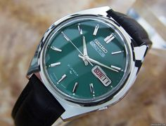 Seiko 5 Listing: Listing no longer available Seiko 5 Actus Mens Rare Automatic 21 Jewels Stainless Japanese. Year Location: United States of America, CA, LOS A Retro Watches, Gents Watches, Stylish Watches, Vintage Watches, Cool Watches, Tag Heuer, Seiko Presage, Wooden Watches For Men, Seiko Automatic