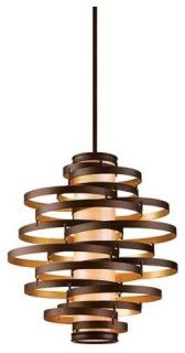 Vertigo Large Pendant Light - modern - pendant lighting - by Lamps Plus