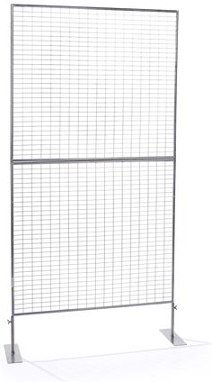 Art Display Grid, 1 Panel - Silver